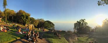 Um lugar para comer bem e apreciar a Lagoa dos Patos
